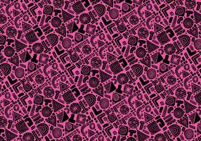 Abstrakte Formen Nahtlose Vektor-Muster