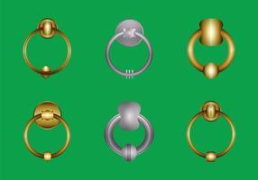 Freie Türklopfer-vektorillustration vektor