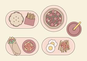 Vektor Fast Food