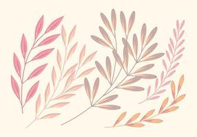 Mjuk vektor gren uppsättning