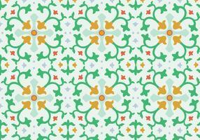 Blumen-Mosaik-Vektor-Muster