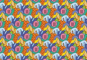 Geometrisches abstraktes Muster vektor