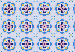 Blom Mosaic Pattern vektor