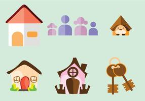 Home Sweet Home Vektoren