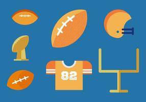 Free footballs vector pack