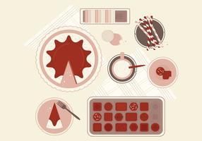 Vector Süßigkeiten Illustration