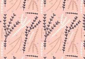 Vektor Boho Pflanze Muster