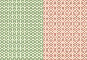 Grünes Linearmuster vektor
