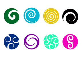 Kostenlose Koru Logo Vektor