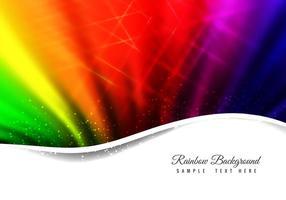 Gratis Vector Abstrakt Rainbow Bakgrund