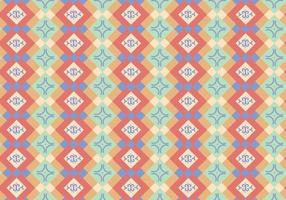 Abstrakt inbyggt mönster vektor