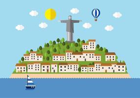 Vector Brasil Stadt Landschaft