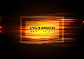 Free Vector Glowing Wave Hintergrund