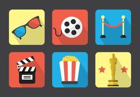 Film Vektor Icons