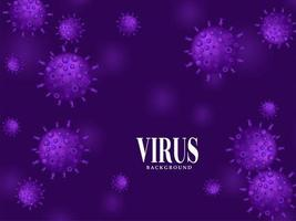 abstrakter Virus, der Krankheitshintergrund verbreitet vektor
