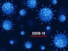 abstrakter Covid-19-Coronavirus-Hintergrund