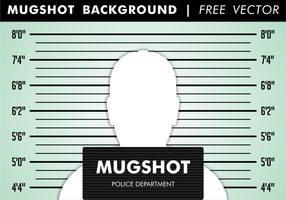 Mugshot Hintergrund Free Vector