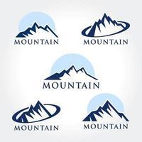 Bergsymbolsammlung
