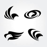 Adler Vogel Symbol vektor