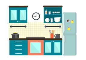 Freie Küche Illustration vektor