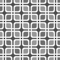 nahtloser quadratischer kubischer Kasten-Retro-Musterhintergrund vektor