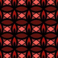 nahtloses Blumenhintergrundmuster des marokkanischen Stils