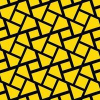 gelbe abstrakte Formen entwerfen Hintergrund vektor