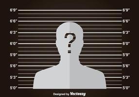 MugShot dunklen Hintergrund vektor