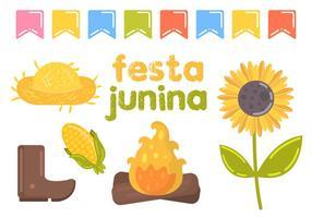 Festa Junina Vektorabbildung vektor