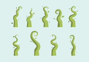 Free Beanstalk Vektor-Illustration