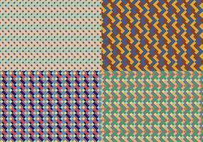 Kvadratisk geometrisk mönster Bacground vektor