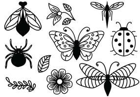 Freie ornamentale Naturvektoren