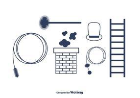 Chimpney sweep vektor