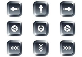 Free Web Buttons Set 15 Vektor