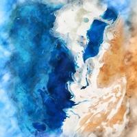 handgemalter marmorierter Aquarellhintergrund vektor
