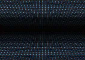 Perspektive Gitter Hintergrund vektor