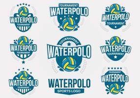 Freier Wasser Polo Vektor