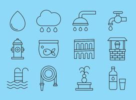 Wasser Icons