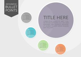 Infografische Aufzählungspunkte