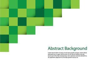 Abstrakter quadratischer Hintergrund vektor