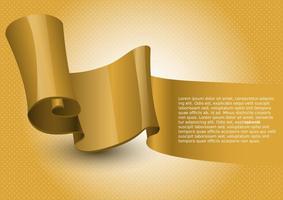Gratis Design Ribbon Vector