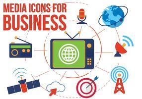 Kostenlose Vector Media Icons