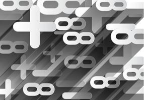 Freie abstrakte Mathe Vecor vektor