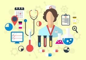 Medicinska vektorikoner