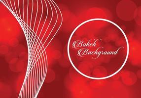 Red Bokeh Hintergrund