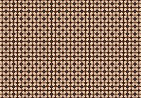 Java Batik Hintergrund Vektor