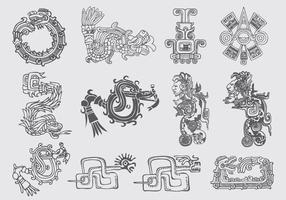 Quetzalcoatl Illustrationer