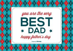 Glückliche Vatertags-Illustration