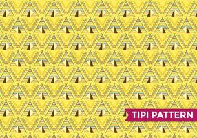 Tipi indischen Muster Vektor