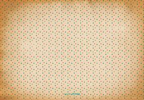 Alter Polka Dot Hintergrund
